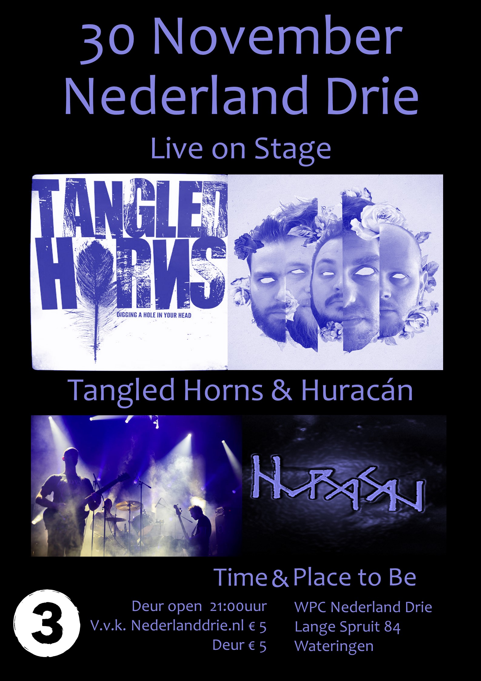 30 November Tangled Horns en Huracan